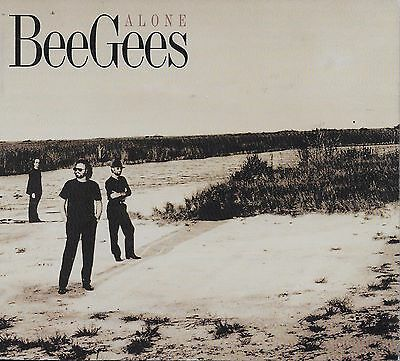 THE BEE GEES  Alone  promo CD single with Gatefold PicCover