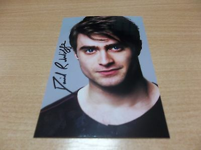 Daniel Redcliffe, U.K Actor, Signed 6 X 4 Photo