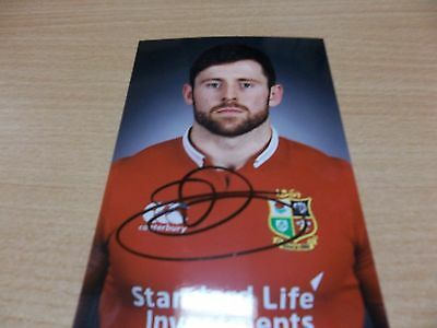 Elliott Daly, British & Irish Lion Rugby Player, Signed 6 X 4 Photo