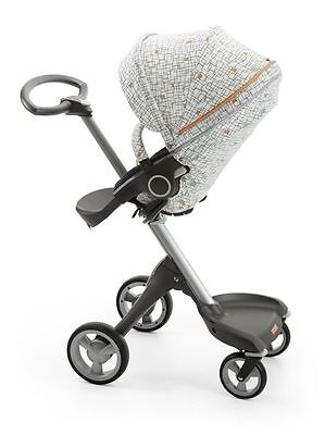Stokke Stroller seat summer style kit for Xplory, or the Trailz, GRID