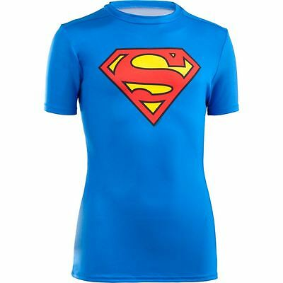 Under Armour Boy's Alter Ego Superman Fitted T-Shirt