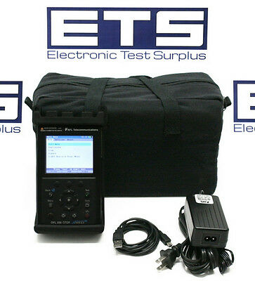 AFL Noyes OFL-250 SM Fiber OTDR With Optical Power Meter VFL & OLS