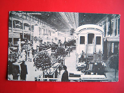 Old Postcard - British Empire Exhibition 1924- The Palace Of Engineering