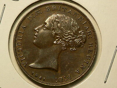Jersey 1841 1/26 Shilling, Queen Victoria, KM# 2, Amazing Eye Appeal!! #6591