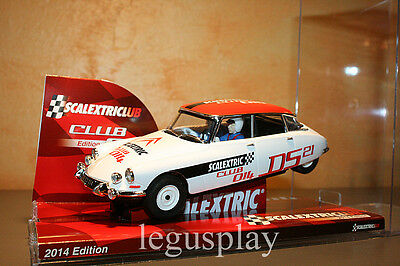 Slot SCX Scalextric A10150S300 Club Edtion 2014 Citroën DS 21 - New