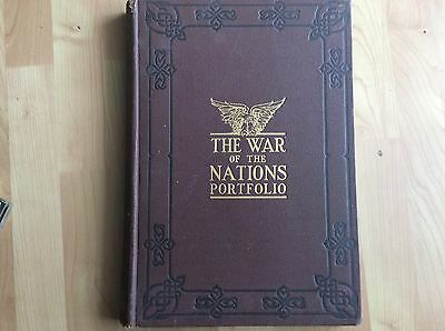 WWI The War of the Nations Portfolio ©1919 NY New York Times Great World War