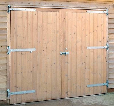 wooden garage doors any size made to measure 7ftwide X 7ft High The Dorset