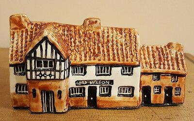 Tey pottery Norfolk  Britain in miniatures England - Lord nelson Reedham