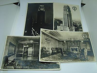 Vintage TORONTO ONTARIO Postcards. THE CANADA BANK OF COMMERCE! Awesome!