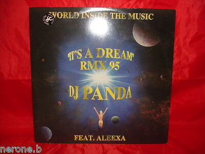 "Disco 45 Giri 12"" Dj Panda Feat Aleexa It's A Dream 95 Rmx 1995 Utta#w99"