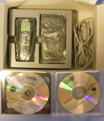 New Lanier Cquence M3 Digital Portable Recorder 16Mb Memory Card 422-160O