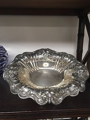 Reed & Barton Francis I Sterling X566F Footed Bowl Date Marked
