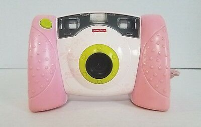 Fisher Price Kid Tough J8209 Pink Floral Digital Camera - Tested