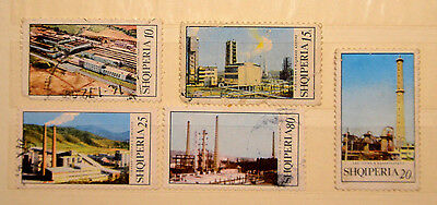 Albania Stamps 1970 Complet Set Used VERY RARE