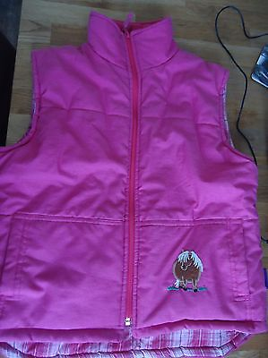 Krazy kids pink gilet child X/L