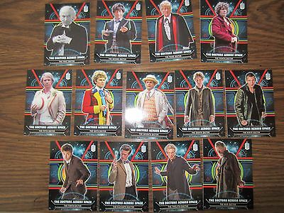 Doctor Who Extraterrestrial Encounters Doctors Across Space Complete 13 Card Set