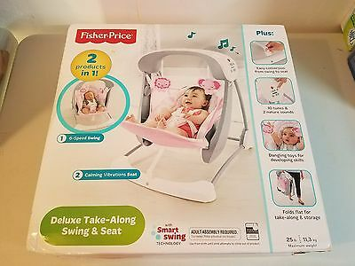 Fisher-Price Deluxe Take Along Swing and Seat NEW