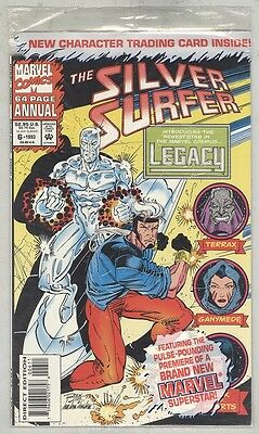 Silver Surfer Annual #6 NM- 1993 Polybag Unopened