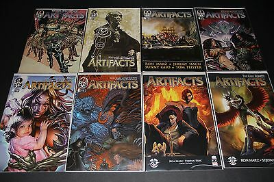 Artifacts #0-40 Complete Run Top Cow Witchblade