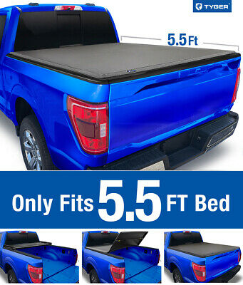 For 2015 2020 Ford F 150 5 5 Bed Tyger T3 Tri Fold Tonneau Cover 199 00 Picclick