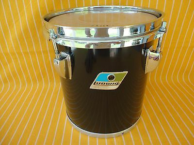 "1979 Vintage Ludwig 8"" Rack Tom Drum Maple Shell B/o Badge Era Rare Made In Usa"