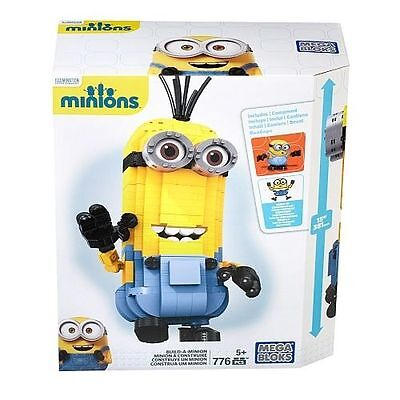 New MEGA BLOKS BUILD A MINION Block Figures Building Set, 776 Pieces