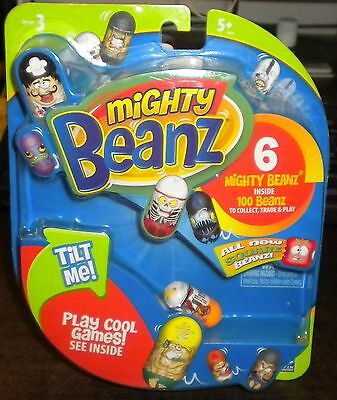 NEW (1) Starter Blind Pack - Series 3 MIGHTY BEANZ 6 Pack with #301 Outside