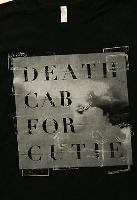 Death Cab for Cutie 2016 tour t shirt size small New