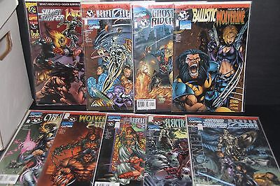 Devils Reign Complete Run #1/2-8 Top Cow Witchblade Wolverine