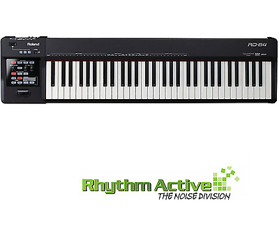 Roland Rd-64 64-Key Hammer Action Digital Electric Portable Piano Keyboard Rd64