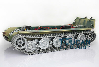 HengLong 1/16 Scale King Tiger RC Tank 3888A Chassis W/ Metal Tracks Wheels