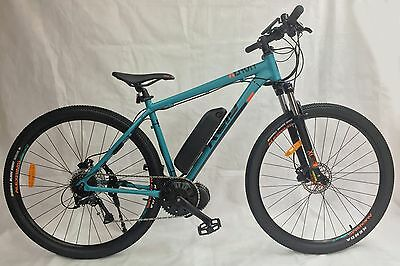 High Spec 48v1000w Mid Drive Electric Bike 11.6Ah Panasonic Lithium Ion Battery