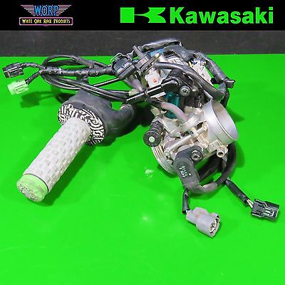 2011 Kawasaki KX450F 9-11 Keihin Throttle Body Intake Fuel Injector Injection