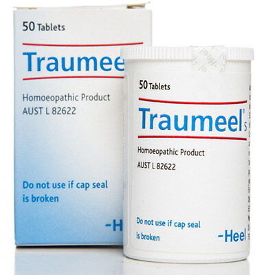 New HEEL Traumeel S 50 Tablets Natural Anti-Inflammatory Relief of Pain Bruises