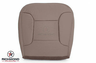 1995 Ford Bronco Eddie Bauer -Driver Bottom Replacement Leather Seat Cover TAN