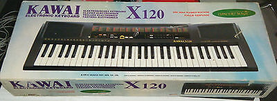 Boxed Kawai X120 Electronic Piano Keyboard Organ - Excellent
