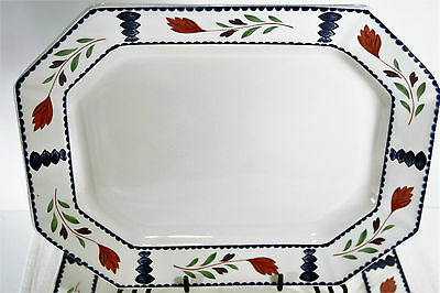 Adams LANCASTER 14' PLATTER (s) Excellent Hand Painted.