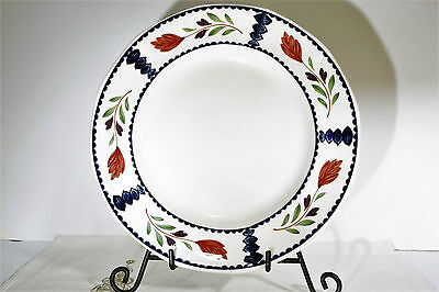 "LOT of 2 Adams LANCASTER 10"" DINNER PLATES,  EXC!"