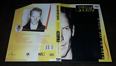 Sting - Fields Of Gold (The Best Of 1984-1994) DVD Special Fan Edition