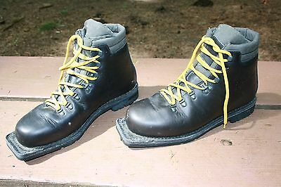 Asolo Sport Snowfield II Mens 9.5 d Cross Country Ski Boot Lace Up Leather Brown