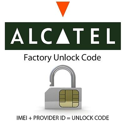 Fast Unlocking Codes For Alcatel 1016G 1017G 1013D 1012X 1011X