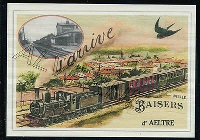 AELTRE  - train souvenir creation moderne - serie limitee numerotee