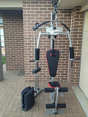 Multi Station Fitness Home Gym Bench Press Weight Workout Equipment 50kg Weight