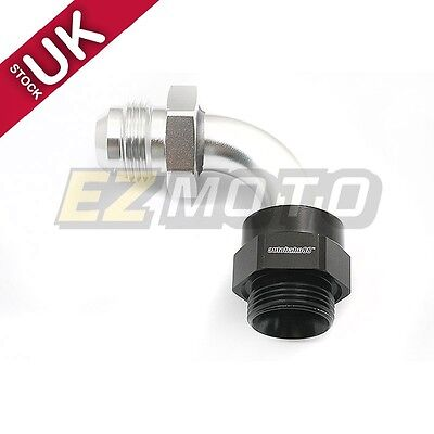 AN-10 to M22x1.5 90 Degree Metric Straight Fittings Oil Cooler Adapter Setrab
