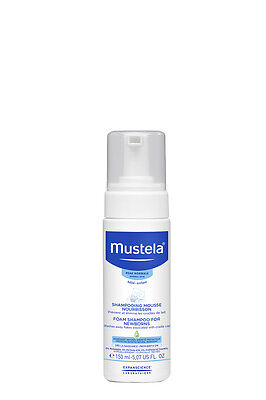 Mustela Foam Shampoo for New Born 150ml - FREE NEXT DAY DELIVERY