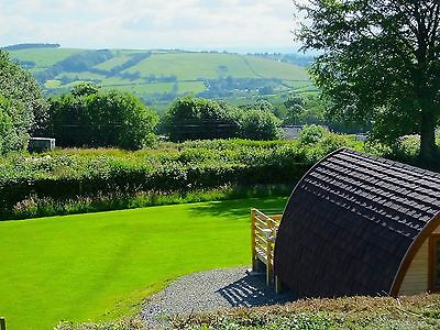Glamping Mega Pod 3rd July 4 nights Fab View.bed  sofa/bed Toilet Kitchenette TV