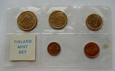 "1964 - 1965  Finland Mint Set of Coins  ""In Sealed Wrap"" SB4019"