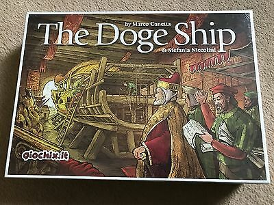 The Doge Ship Adventure Board Game - new sealed in box
