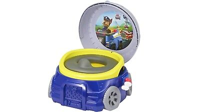 The First Years Paw Patrol Chase Potty with Pretend Flushing Sound - Blue