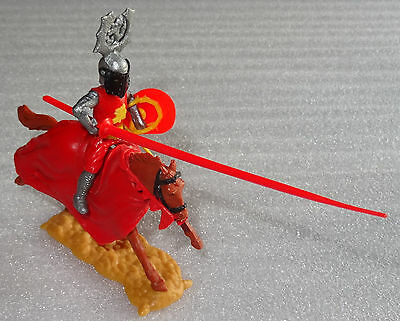 Timpo Toys Knight Tab Tournament knight red